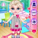Baby Elsa's Peppa Pig Room