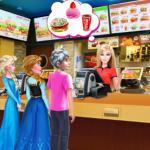 Barbie's Fast Food Restaurant