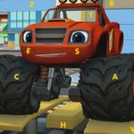Blaze Monster Truck Hidden Letters