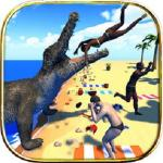Crocodile Simulator Beach Hunt