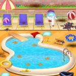 Disney Princesses Pool Party Clean