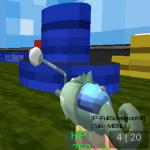 Paintball Gun Pixel 3d