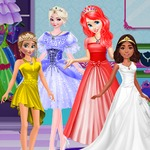 Princesses Color Dress