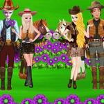 Princesses Cowboy Adventure