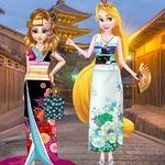 Princesses Kimono Vs Cheongsam
