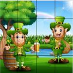 Saint Patrick's Day Sliding Puzzle