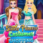 Sisters Princess Costumes Shopping
